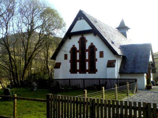 Inversnaid Bunkhouse: Converted Chapel