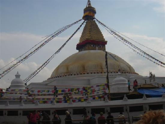 Bairoling Guesthouse: Boudhanath Stupa, Kathmandu