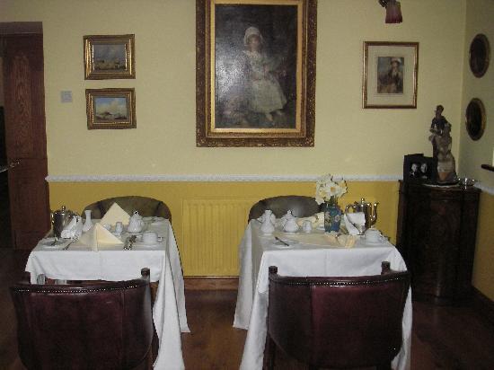 Rathfeigh, Irland: breakfast room