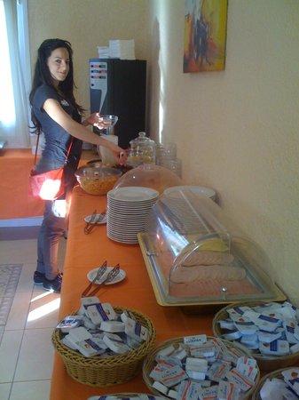 Hotel Ilisia : buffet colazioni