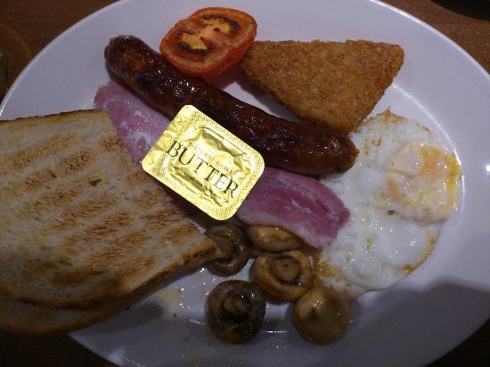 Mercure London Paddington Hotel: Full English Breakfast at Garfunkel's Restaurant