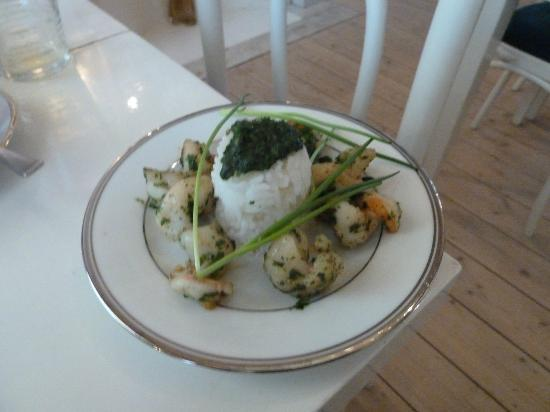 Antwerp B&B: Breakfast dish
