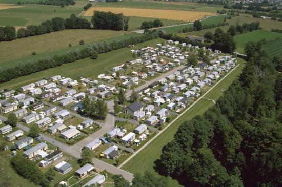 Camping de Renval : Lucht Foto
