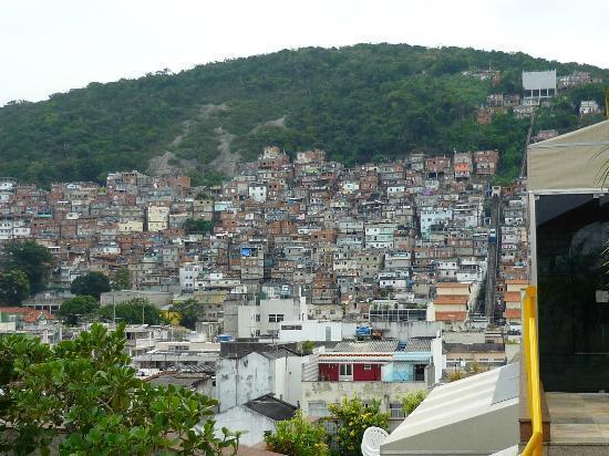 South American Copacabana Hotel: Vista desde la terraza