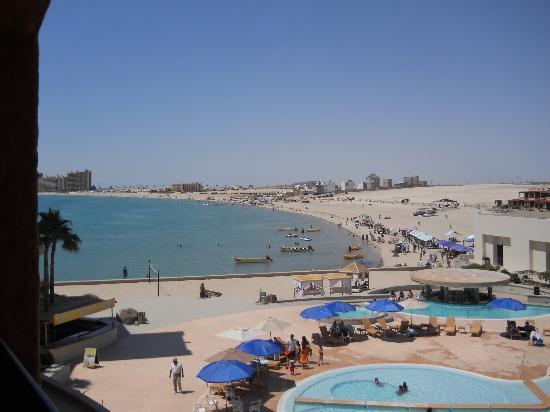 Penasco Del Sol Hotel: La vista desde la habitación...