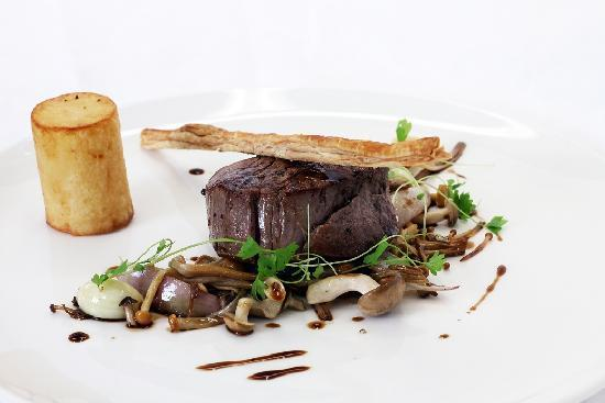 La Rock Restaurant : Autumn '11; Deconstructed Beef Wellington