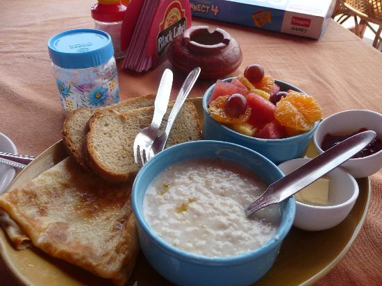 Milestone: завтрак для здоровья(healthy breakfast)