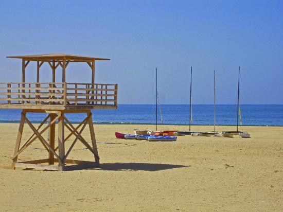 Hotel Riu Palace Tikida Agadir : Blick auf den tollen Stran von Agadir