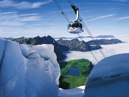 Luzern, Schweiz: Mount Titlis
