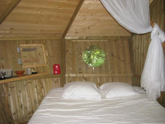 Les Cabanes de Viré: Chambre parents