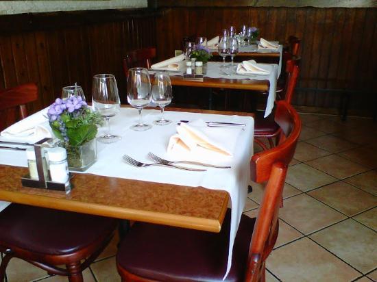 Restaurant du Léman : Interior