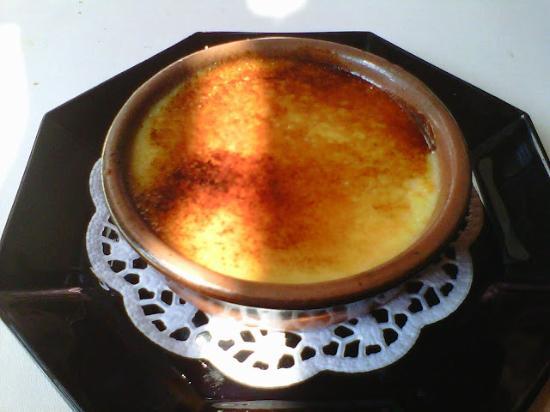 Restaurant du Léman : Crème brûlée with orange and honey