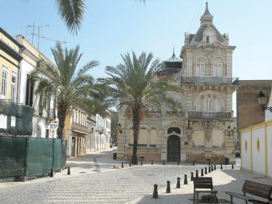 Old Town Faro : alte Villa