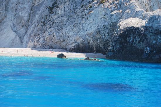 Idilli Villas Lefkada: egremni beach