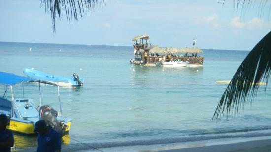 Bananarama Beach and Dive Resort: View from Thirsty Turtle