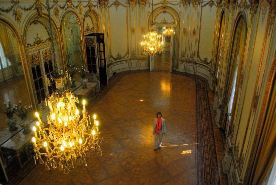 Palacio Paz: On of the ballrooms