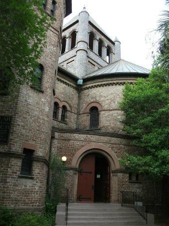 Sound of Charleston: Entrance to Circular Church, Meeting Street, Charleston, SC