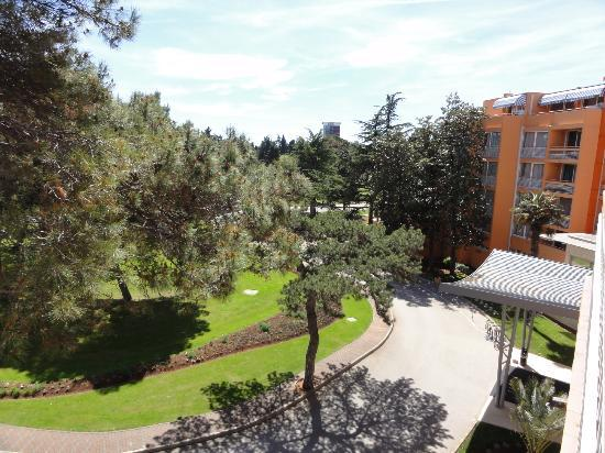Sol Umag: Beautiful view of the park from our room