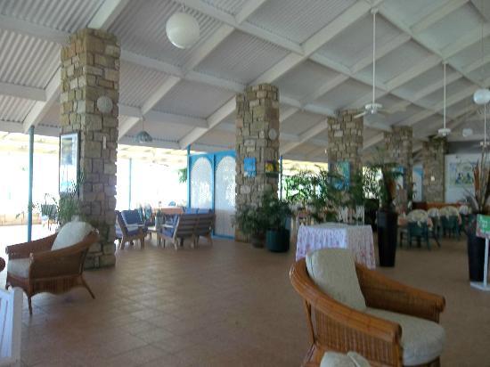 Hawksbill by Rex Resorts: Receptio Area & Tamarind Tree Restaurant