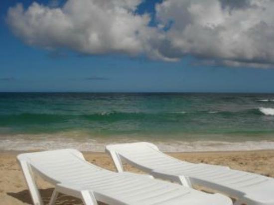 Hotel Kokobay: Es una foto de la playa privada del hotel!!!