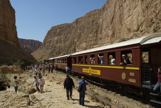 Tunisie : Red Lizard Train