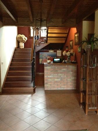 Hotel Rural Andrin: Reception