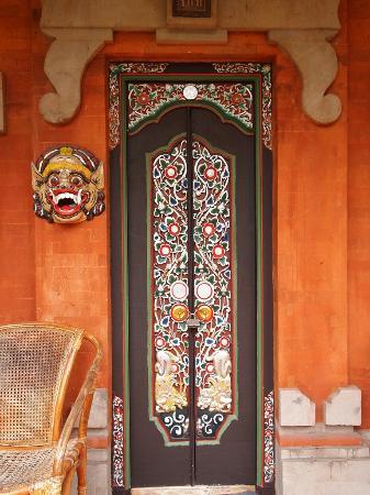 Kumala Hotel: A door to one of the rooms at Hotel Kumala, in Legian, Kuta, Bali, Indonesia.