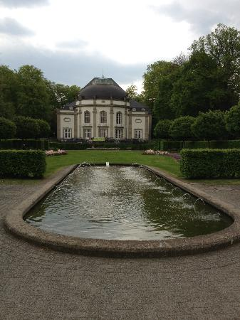 Kurpark: View to the Theather