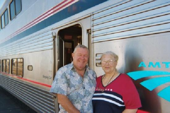 Forks Lumber Mill Tour: The Amtrak is the way to travel