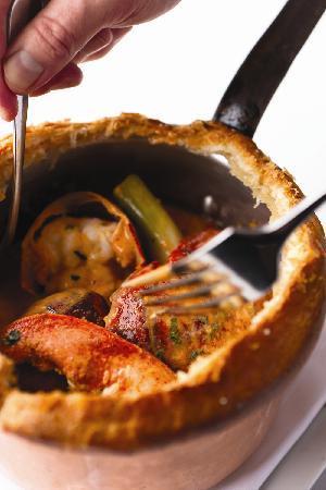 Bourbon Steak: Lobster Pot Pie