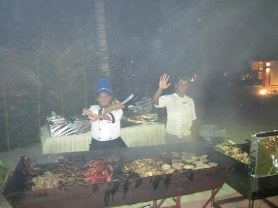 TRS Turquesa Hotel: Beach BBQ