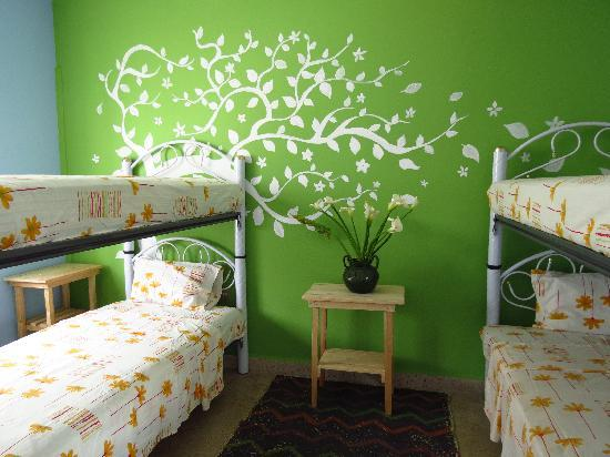 Azul Cielo Hostel: room with 4 beds