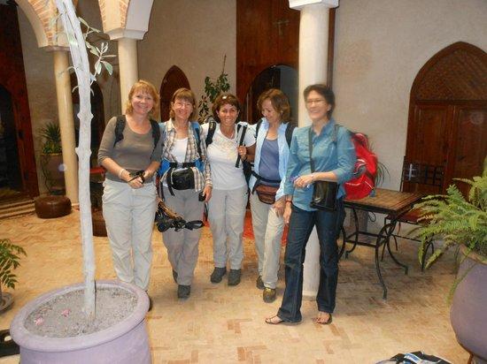 Riad Zen House : Départ