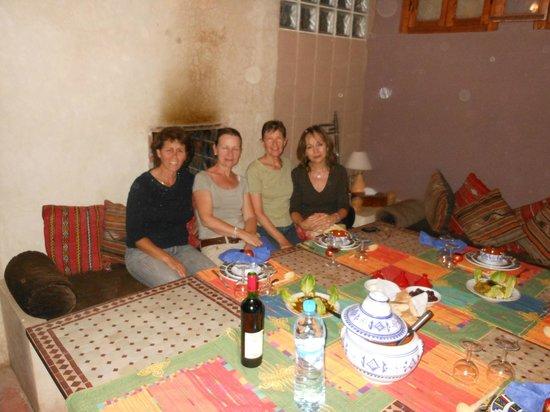 Riad Zen House : Repas gastronomique