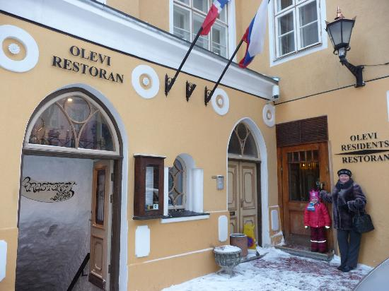 Olevi Residents: вход в отель