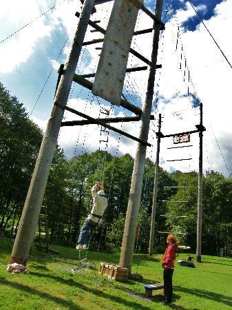 Resort Malevil : High ropes
