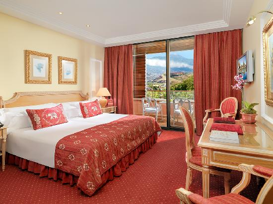 Hotel Botanico & The Oriental Spa Garden: Double Deluxe Room - Teide View