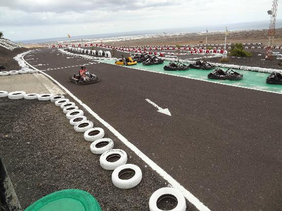 Go Karting San Bartolome: start