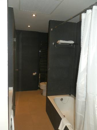 Cienbalcones Hotel : Modern bathroom