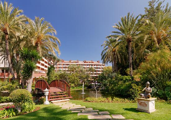 Hotel Botanico & The Oriental Spa Garden: Gardens at the Hotel Botanico Tenerife