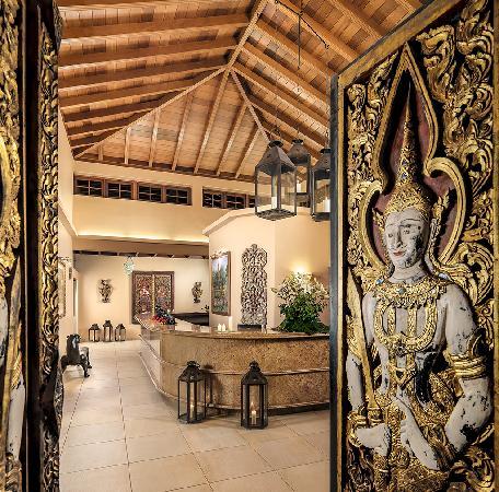 Hotel Botanico & The Oriental Spa Garden: Entrance at The Oriental Spa Garden