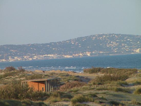 Hotel Les Dunes : Vue de la Colline de Sète depuis l'étage supérieur