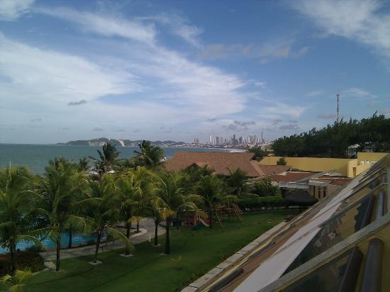 Prodigy Beach Resort Natal: Vista da varanda