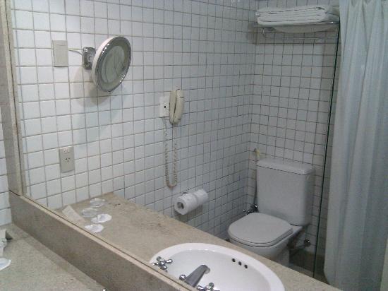 Prodigy Beach Resort Natal: Banheiro com cortina plástica?