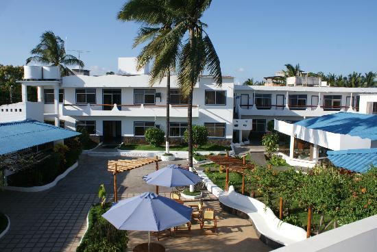 Hotel Ninfa: Vista panoramica de parte del Hotel