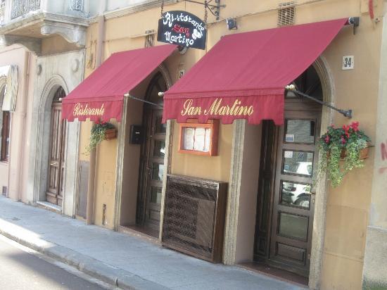 Ristorante San Martino: ESTERNO RISTORANTE