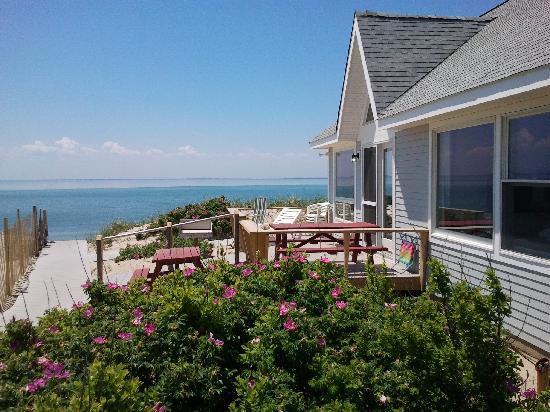 Horizons Beach Resort: View from Deck