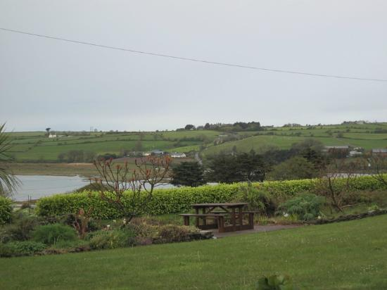 Seafield Farmhouse B&B: great view