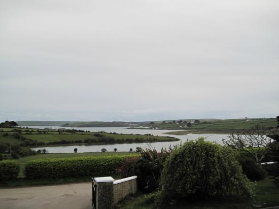 Seafield Farmhouse B&B: view from front door