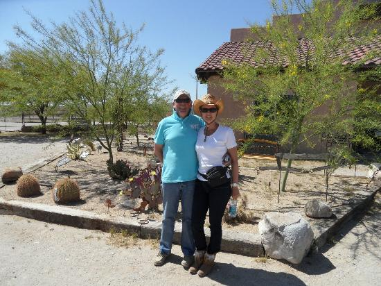 Stagecoach Trails Guest Ranch: The two of us!